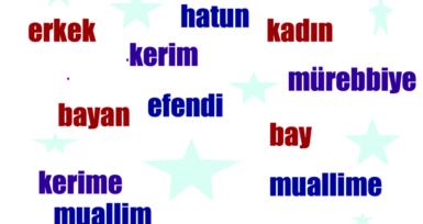 Osmanlı Türkçesi Adlarda Cinsiyet